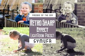 RETRO SHARP EFFECT LIGHTROOM PRESETS 0010 by symufa