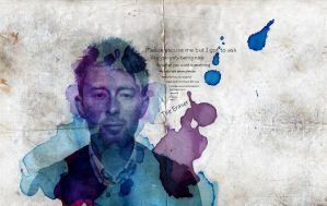 Thom Yorke by d4v1dl3ach