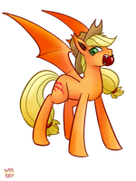 Applejack Bat by norang94