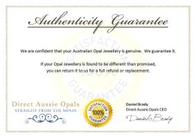 Authenticity Certificate by danbradster