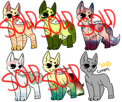 scenery themed felines - offer to adopt - open by femmequartz