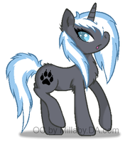 New OC MLP FIM ColdyClaw by millaby