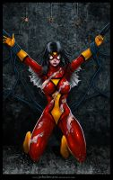 Beat And Bound 6: Spiderwoman by andrewr255
