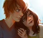 Loreen and Dylan by Ni-nig