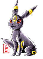 Umbreon I Choose You by cerasly