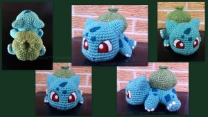 Baby Bulbasaur (with pattern)