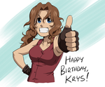 Birthday Gift for Krys by HitanTenshi