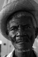 Old Haitian Man by LeahPhotography