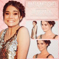 Maia Mitchel Png Pack by lightwoodamla