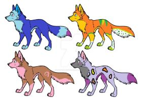 Draw to adopt wolves ONE LEFT by L-A-B-R-A-D-O-R