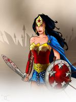 WonderWoman by willmottram
