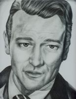 John Wayne by hippy-girl