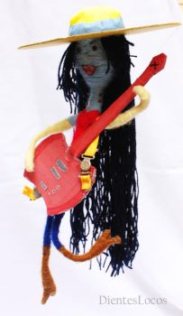 Marceline doll by dienteslocos