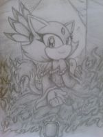 Blaze Sketch by AquaticSun
