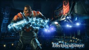 Electrocutioner Wallpaper by BatmanInc