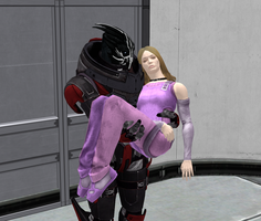 Silas Carrying Elle - XPS by Padme4000