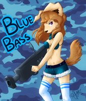 + Blue Bass + by Nayobe