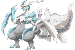 White Kyurem V2 by Ryan-sprite
