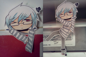 Bookmark Cutout 2 - Cervantes by donutpolice