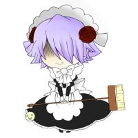 Xerxes' s maid outfit by nischuny