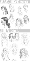 Sketch Select - 2013: May to July by Maivry