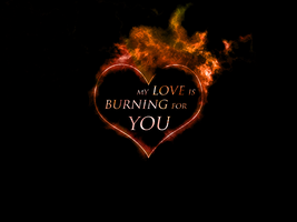 Burning Love by iceannet