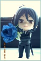 Sebastian give you a Blue Rose by small-yeast-dumpling