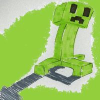 A Creeper by MyFoop