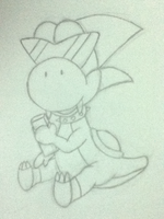 Boshi chocolate pencil by MikariStar