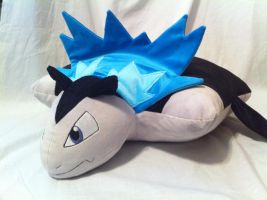 Typhlosion minky pillow plush by PlanetPlush