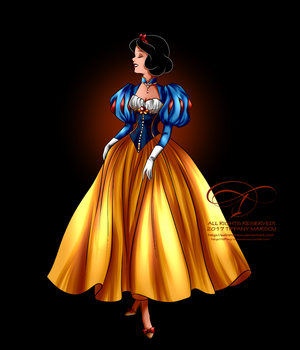 Disney Haut Couture - Snow White by selinmarsou