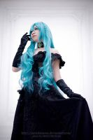 Black Vow Hatsune Miku by jaRoukaSama
