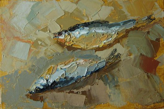 Two fishes by andaushi