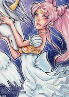 The Little Princess Serenity by shidonii