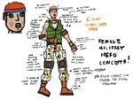 Female Hero Concepts #4 by rittie145