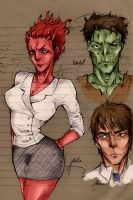 Ugly Americans: Color by vinces