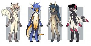 $25/2500 points adoptables - CLOSED by Siraviena