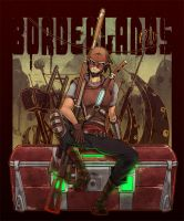 BORDERLANDS:Mordecai 2 by KEISUKEgumby