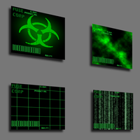 FUSE-CORP Stock Backgrounds by Drake09