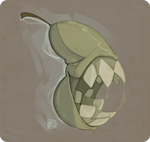That pears got a bite to it by CaptainVoxel