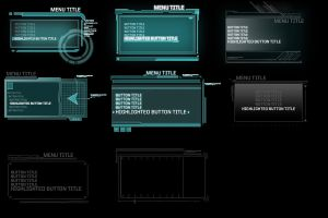 Blacklight: UI Style Sketches by UICandy
