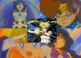 Sailor Senshi Collage by Shadowstar