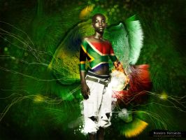 welcome to africa by Rozairo