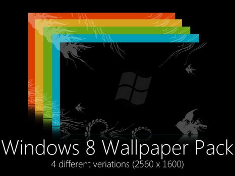 Windows 8 wallpaper pack by CAY720325