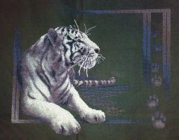 White Tiger 2. Cross Stitch by ouraion