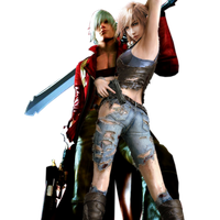 Dante and Lightning .1 by DksArts