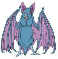 ...pogheys... Golbat by Rainbow-Cemetery