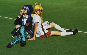 Panty and Stocking! by jacquelinelawson