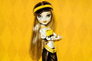 The power of the yellow by RoxanneStein