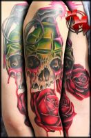 Death sleeve session 2 by MattieMacabre